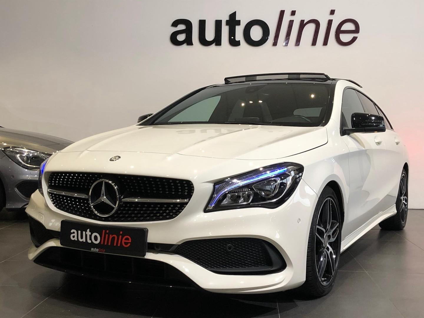 Mercedes-benz Cla-klasse Sb 200 amg-line, night,pano,camera!