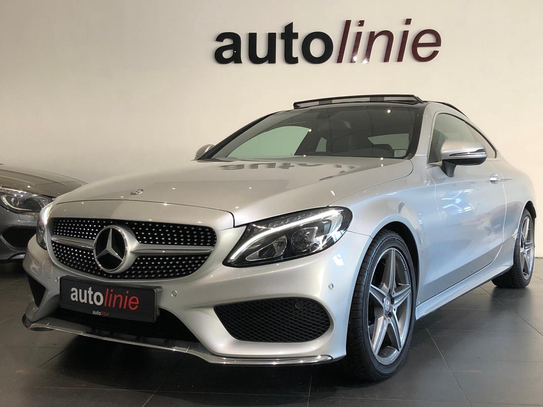 Mercedes-benz C-klasse Coupé 200 amg-line , pano, camera!