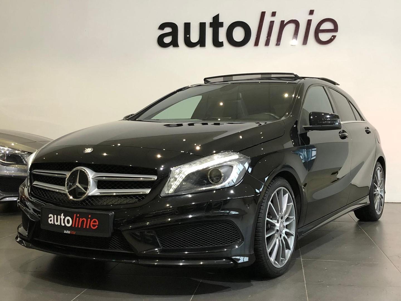 Mercedes-benz A-klasse 180 amg-line , pano, navi, xenon,led!