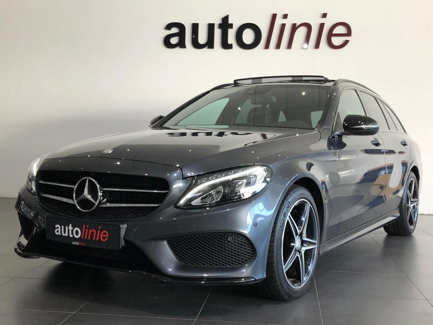 Mercedes-benz C-klasse Estate 250 amg-line ,pano, led, navi!