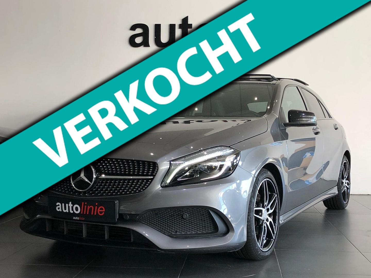 Mercedes-benz A-klasse 200 amg-line , pano, camera, led!