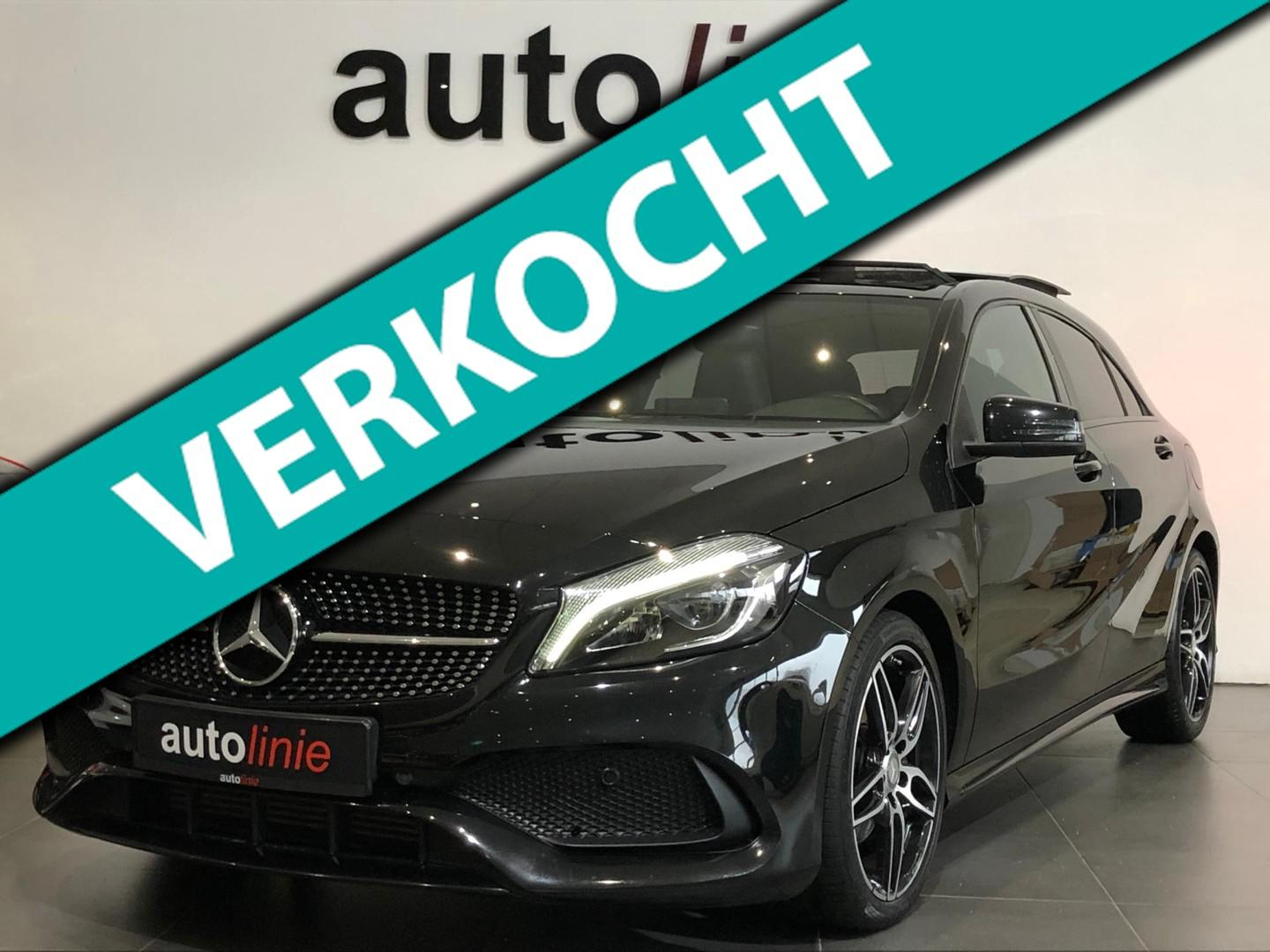 Mercedes-benz A-klasse 200 amg-line night edition, panorama!