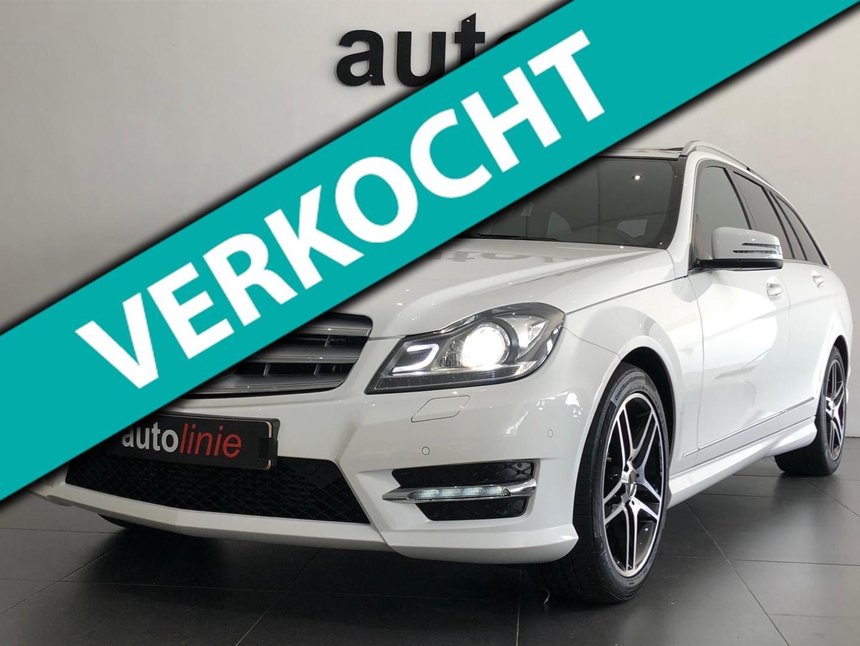 Mercedes-benz C-klasse Estate 180 amg-line ,pano,xenon,navi!
