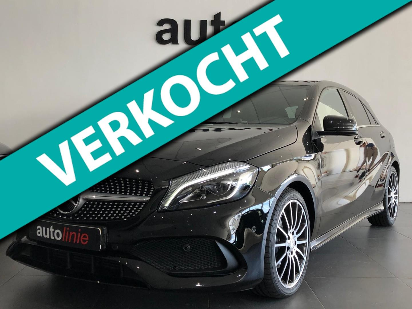 Mercedes-benz A-klasse 200 d amg peak ed., h.kardon, camera!