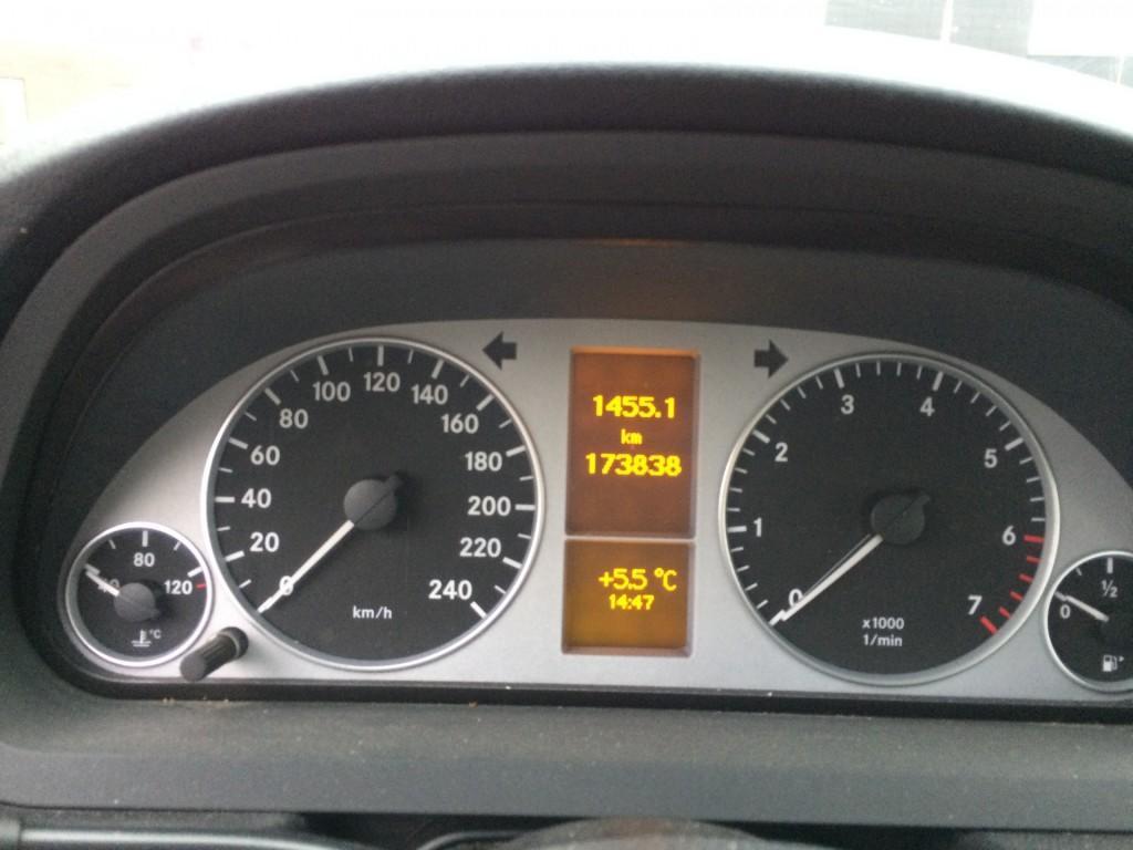 Mercedes-Benz B-Klasse 170 NGT BUSINESS CLASS NAVI