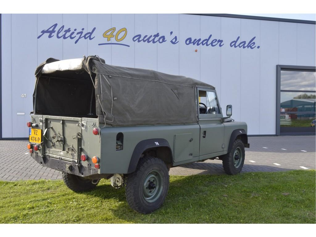 Land rover 110 2500 d apk sept 2018 btw - bedrijfsauto