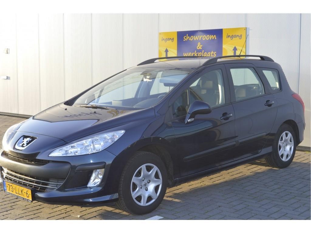 Peugeot 308 Sw 1.6 vti blue lease ecc   navigatie cruise control   trekhaak
