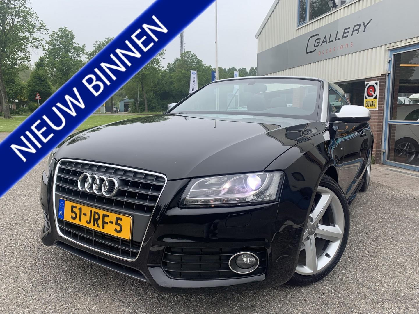 Audi A5 Cabriolet 2.0 tfsi pro 2xs-line, automaat, nederlanse auto, navi, pdc, cruise, xenon - incl. 3 mnd garantie!