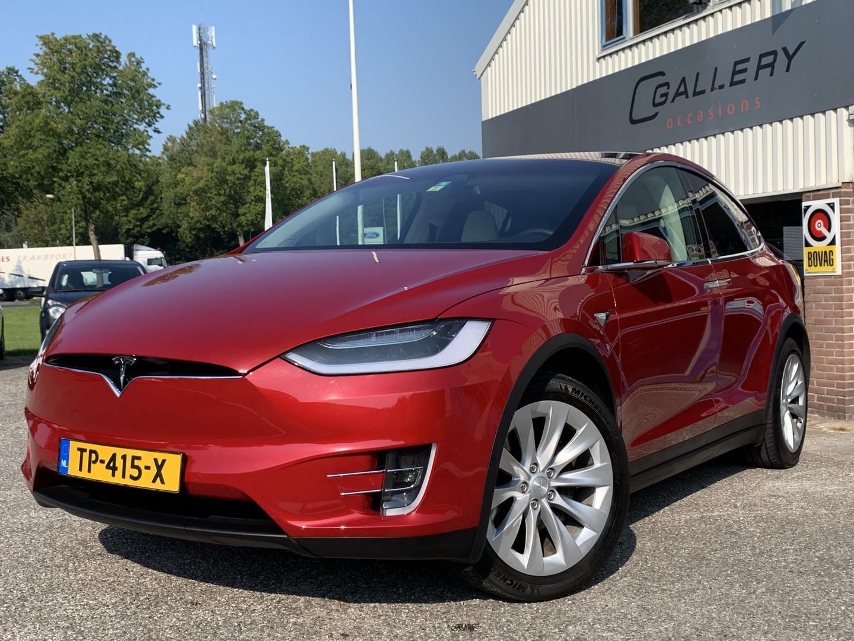 Tesla Model x 100d 7p. - 4% bijtell. autopil. superchar, trekhaak, ex. btw - incl. tesla garantie