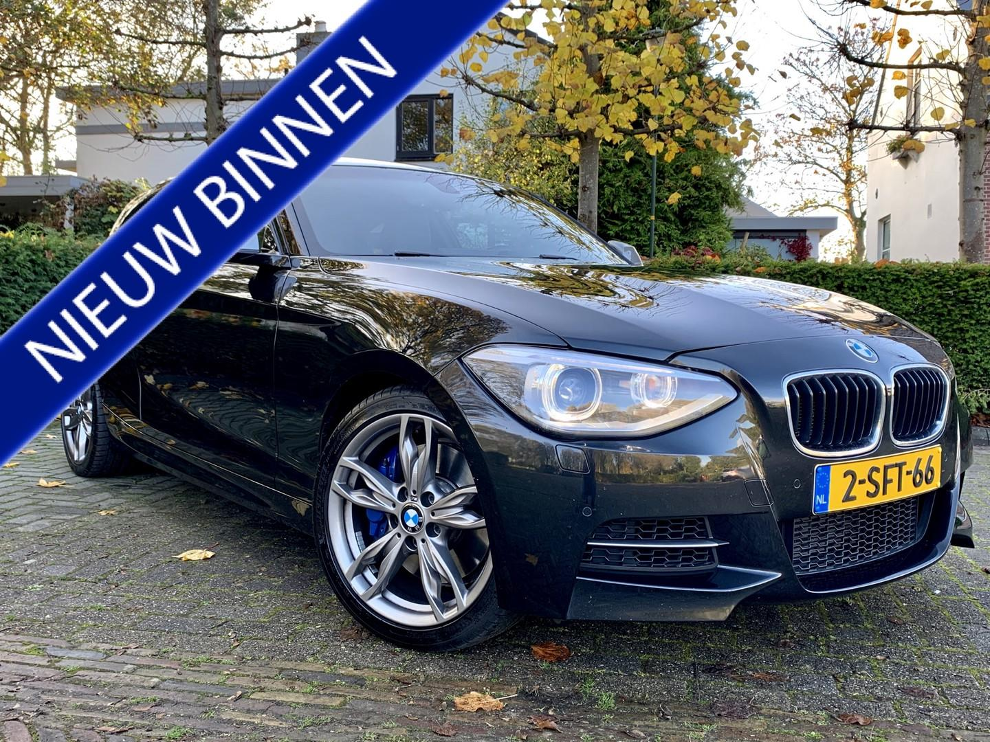 Bmw 1 serie M135i high executive automaat, navi, leer, cruise, xenon - incl. 3 mnd garantie!