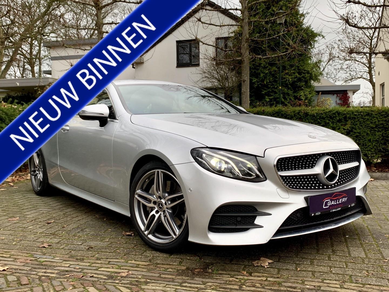Mercedes-benz E-klasse Coupé 200 business, amg-line, leder, led, 19'', camera - incl. 6 mnd garantie!