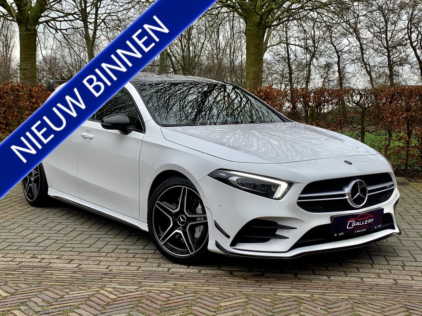 Mercedes-benz A-klasse A35 amg 4matic aerodynamic package, pano, camera - incl. 6 mnd garantie!