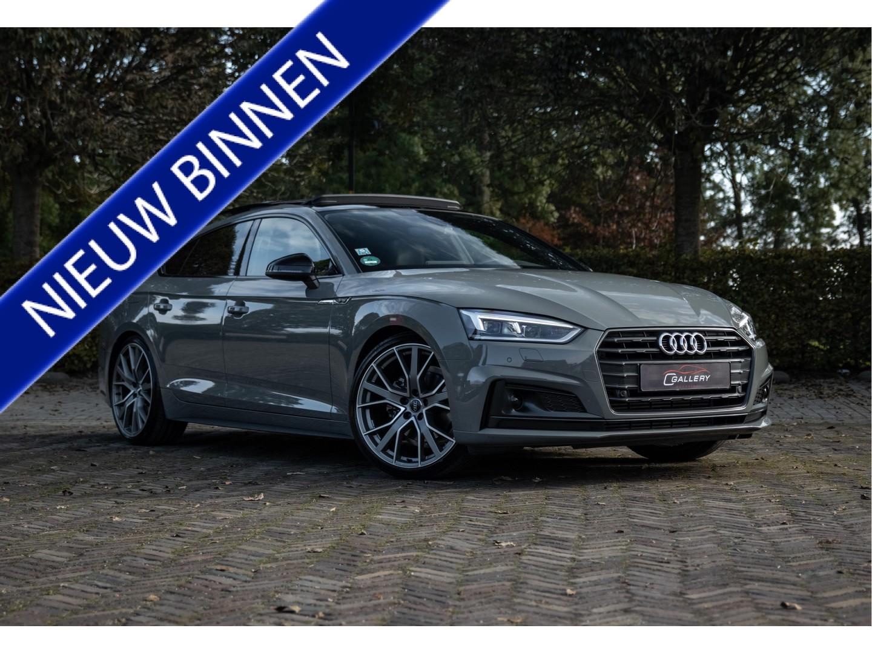 Audi A5 Sportback 40 tfsi - s line - incl. btw l pano l b&o l carbon - audi fabrieksgarantie!
