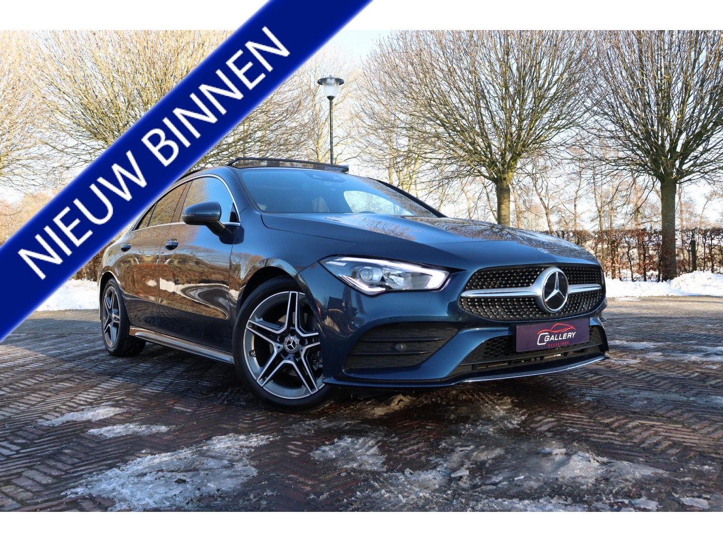Mercedes-benz Cla-klasse 180 business solution amg edition - pano l ambi light - mb fabrieksgarantie!