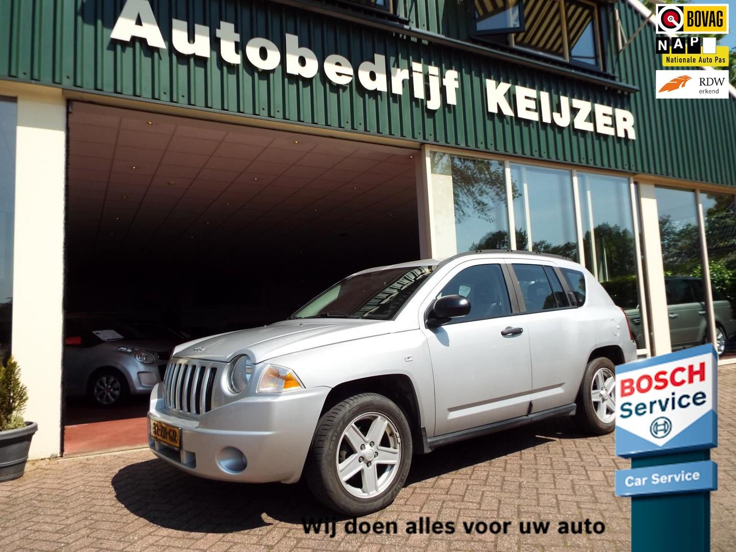 Jeep Compass 2.0 crd limited cruise-airco-4x4-nap-bovag
