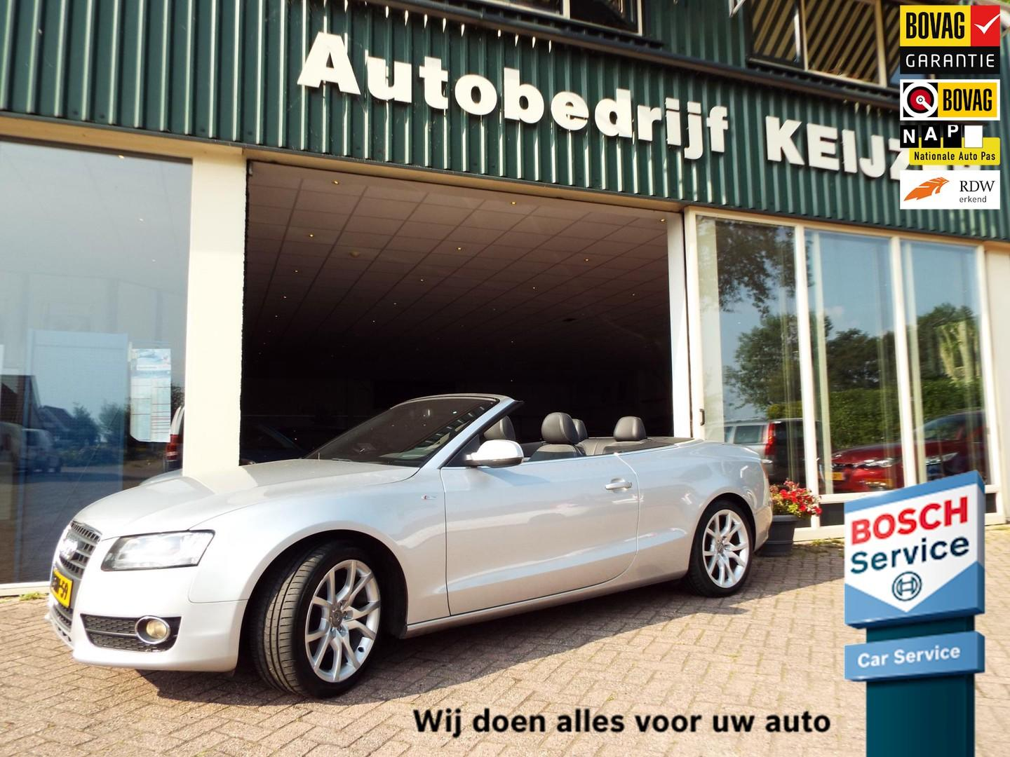 Audi A5 Cabriolet 2.0 tfsi quattro pro line s clima-cruise-automaat-flippers-bovag-
