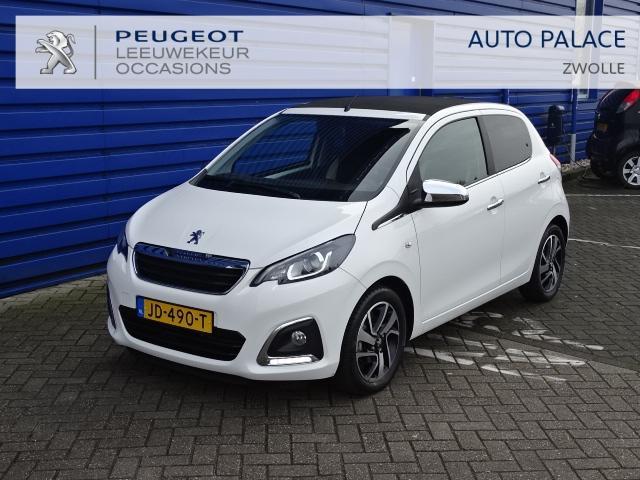 Peugeot 108 1.2 puretech 82pk top! allure cabrio-top cruise clima lm-velgen