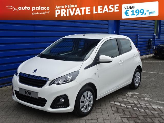 Peugeot 108 1.0 68pk 5d active netto deal