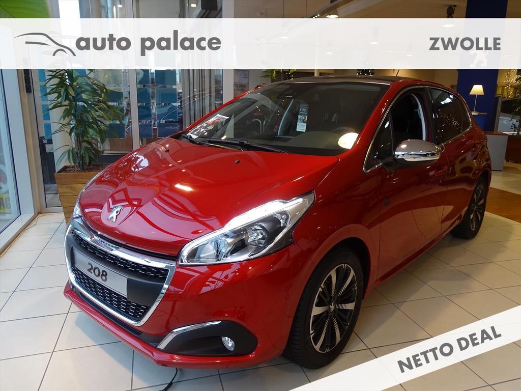 Peugeot 208 Tech edition 5drs 1.2 puretech 110pk,panoramadak,nav,camera