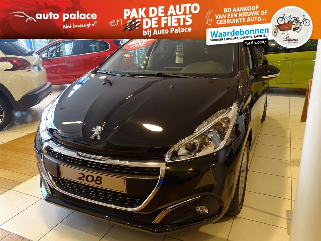 Peugeot 208 Signature 1.2 puretech 110pk, nav, parkeerhulp achter, airco