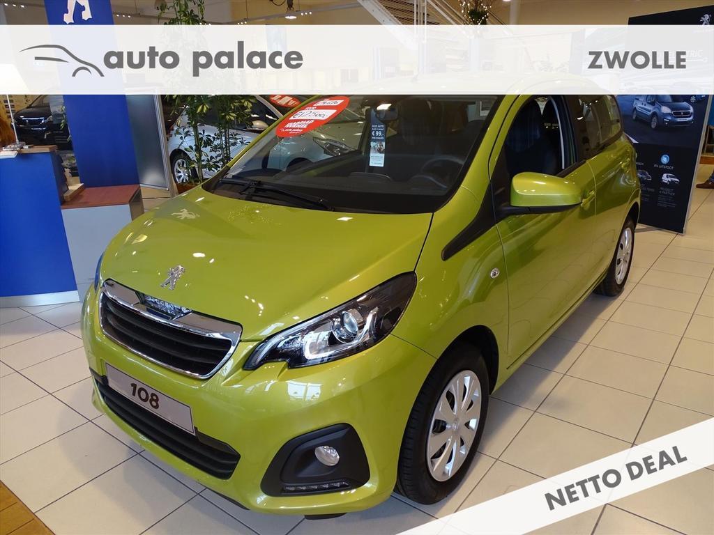Peugeot 108 Active 1.0 e-vti 72pk 5drs, airco,mistlampen,elektr. ramen voor