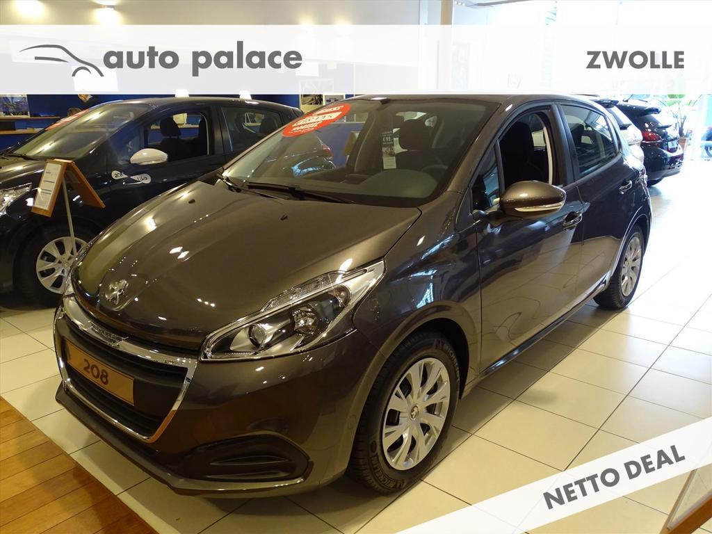 Peugeot 208 Active 5drs 1.2 82pk automaat, airco, nav, dab+