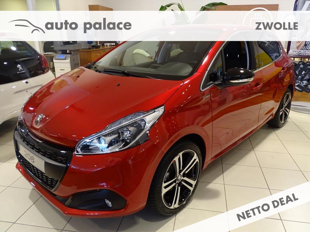 Peugeot 208 Gt-line 1.2 pure tech 110pk,nav,camera,climate control,17