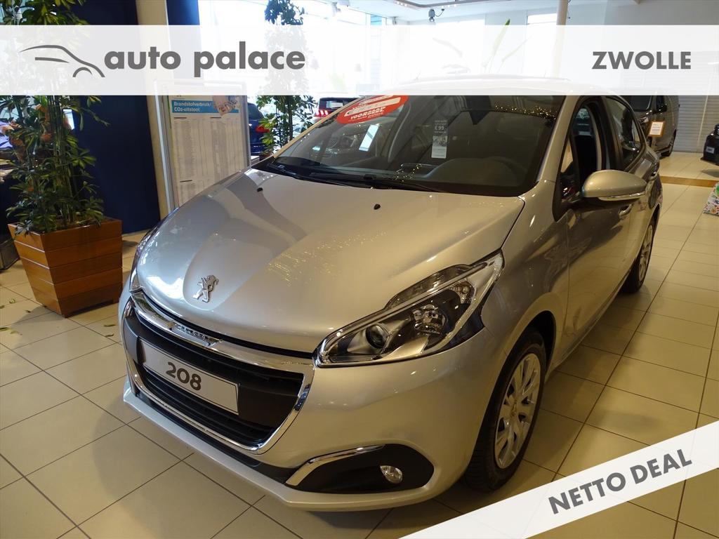 Peugeot 208 Blue lion 5drs 1.2 pure tech 82pk, airco,nav,parkeerhulp achter