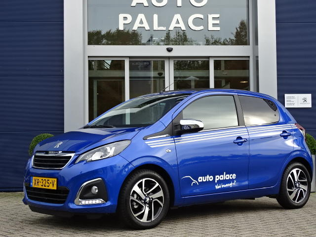 Peugeot 108 1.0 e-vti 72pk 5d top! collection