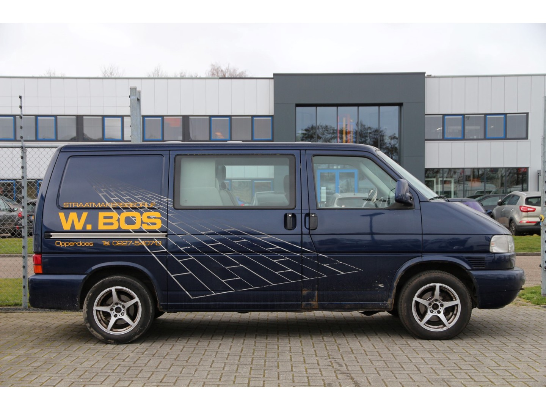 Volkswagen Transporter 2.5 tdi 102pk * dc * apk 08-2021 * cruise * airco..