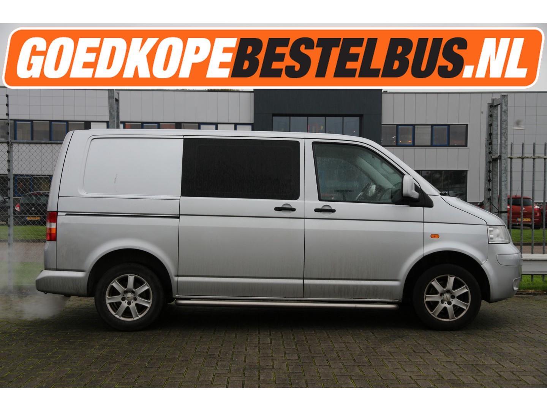 Volkswagen Transporter 2.5 tdi 130pk * dc * kort * cruise * airco * slaat slecht aan!!