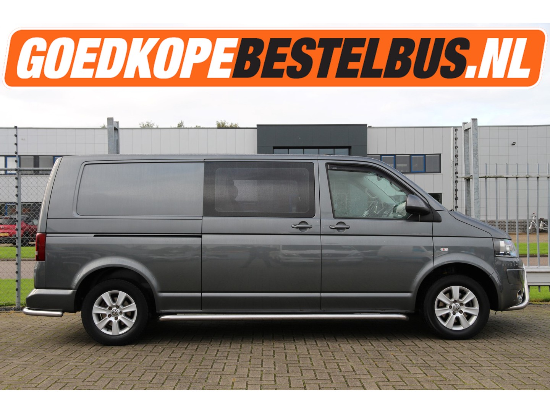 Volkswagen Transporter 2.0 tdi 140 * dc * l2 * schuifdak * cruise * orig. navi * airco..