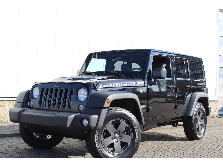 Jeep Wrangler 2.8 16v 200pk 4d aut. van (euro 6) unlimited rubicon