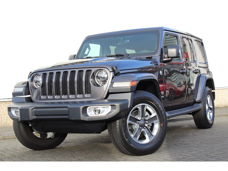 Jeep Wrangler 2.2d 200pk sahara at8