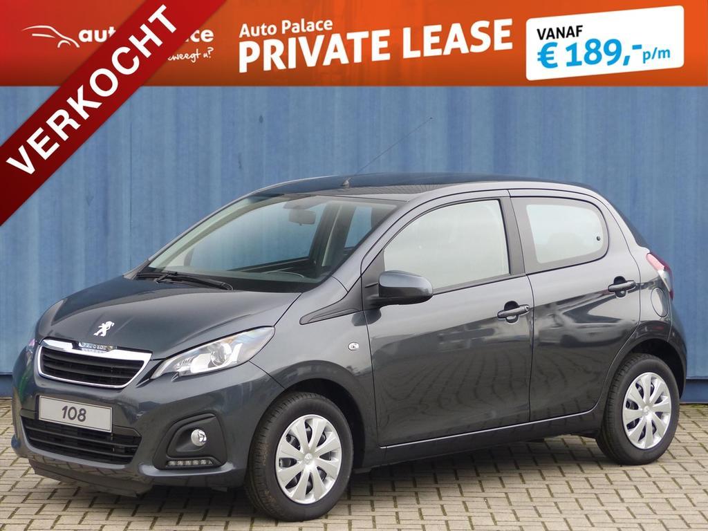 Peugeot 108 1.0 active ***verkocht***