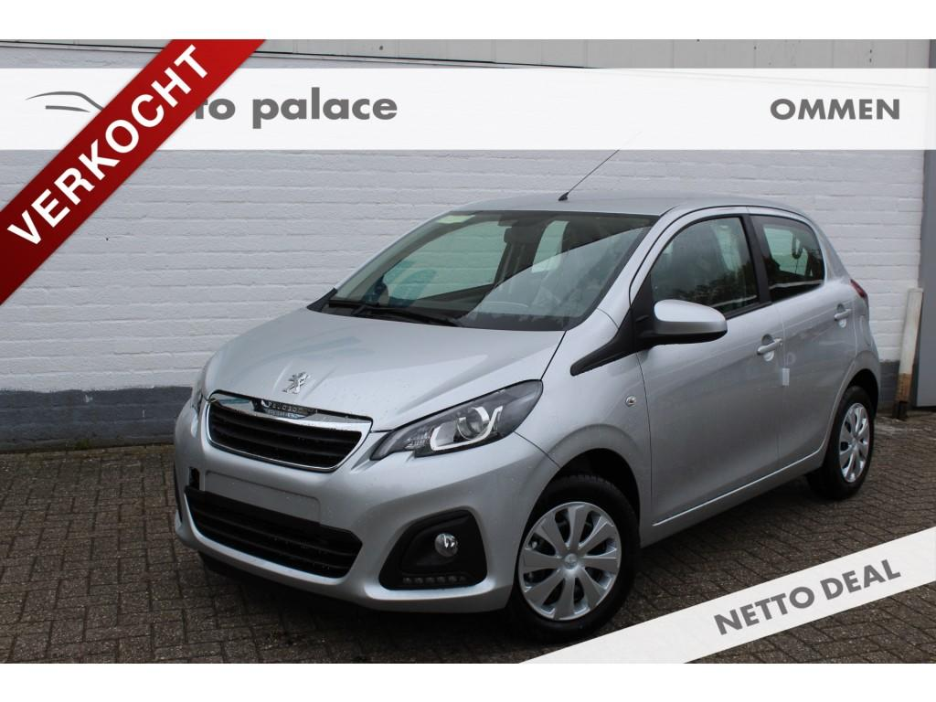 Peugeot 108 1.0 e-vti 5-drs blue lion airco, bluetooth, radio