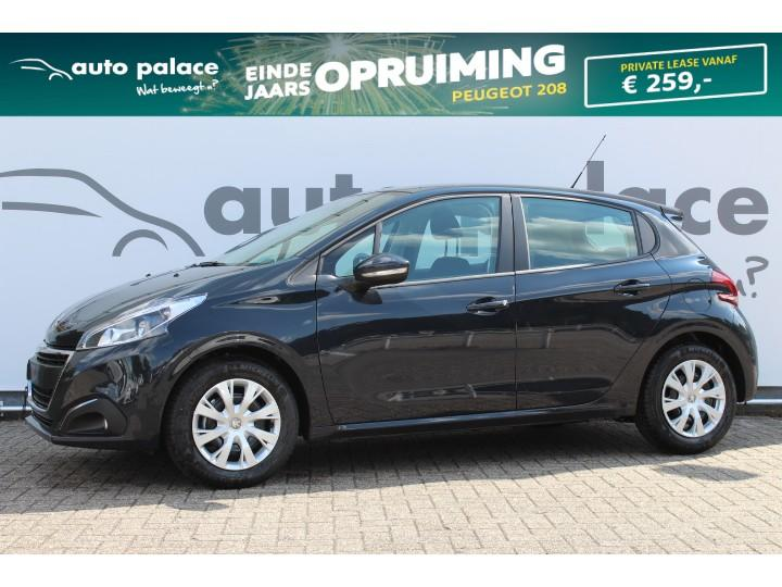 Peugeot 208 1.2 puretech 82 pk blue lion parkeersensoren achter navigatie