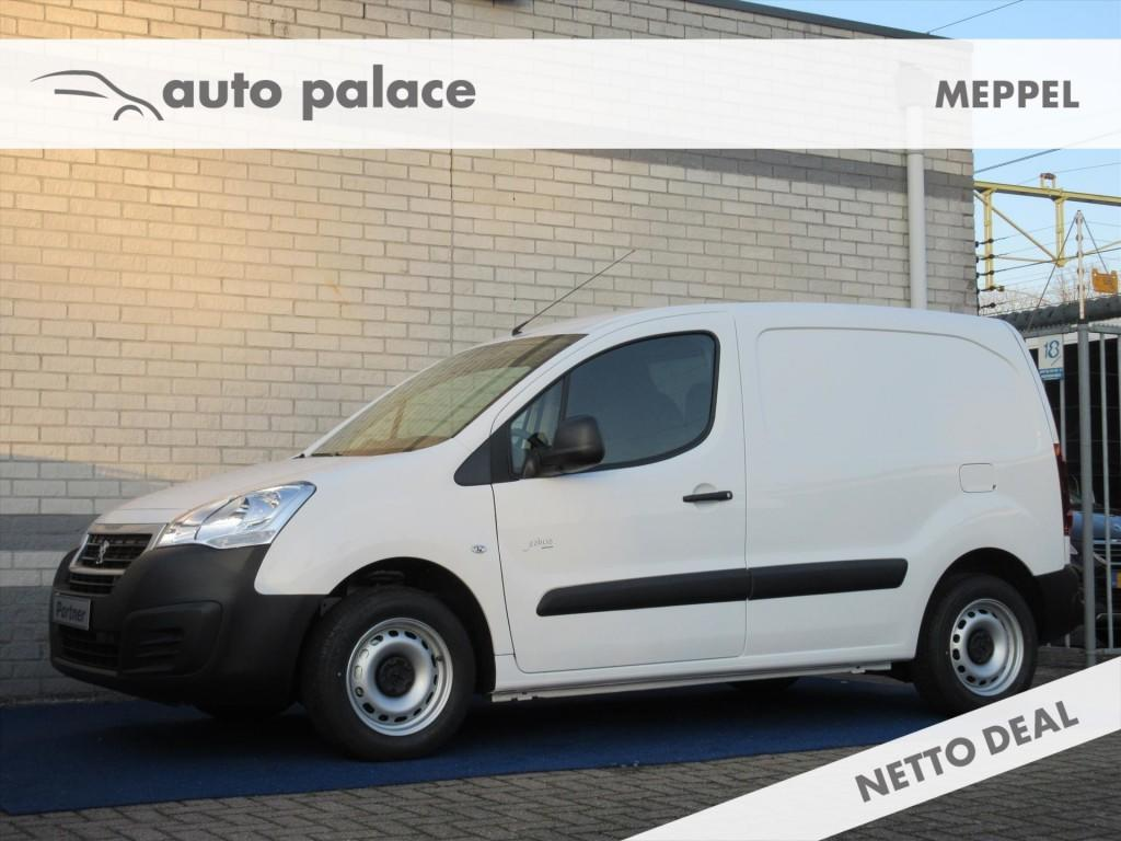 Peugeot Partner Gb 120 l1 1.6 bluehdi 100pk 2-zits premium airco sensoren