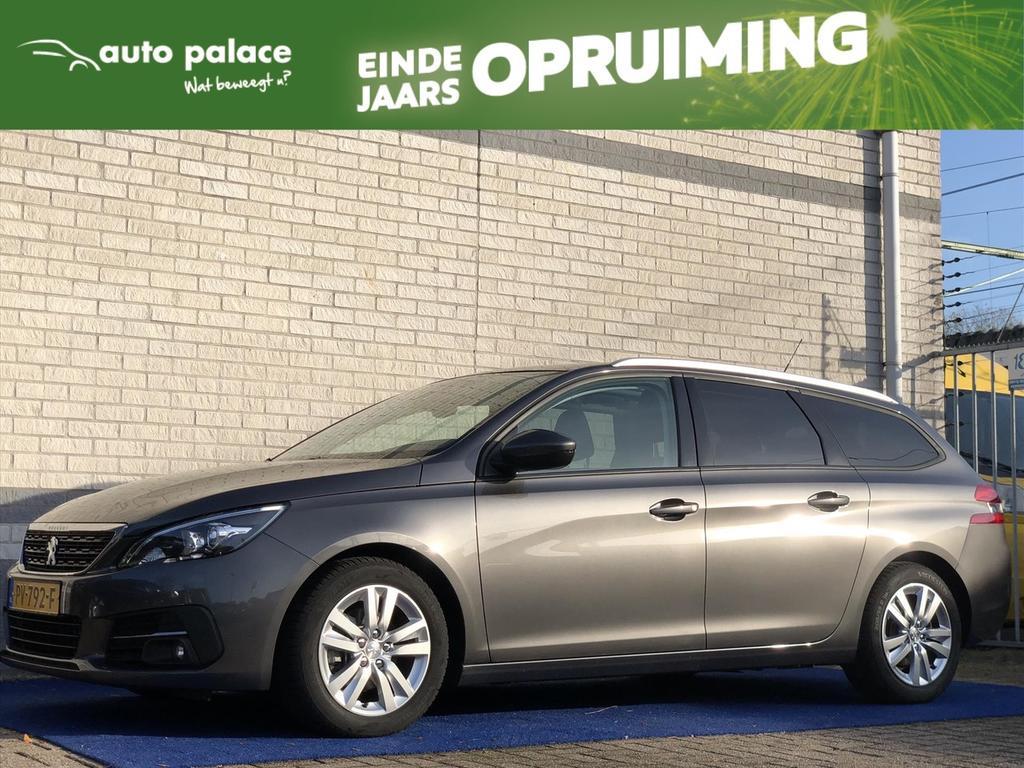 Peugeot 308 1.6 bluehdi 120pk b.l. ex. navi cruise parkeersensoren voor+acht