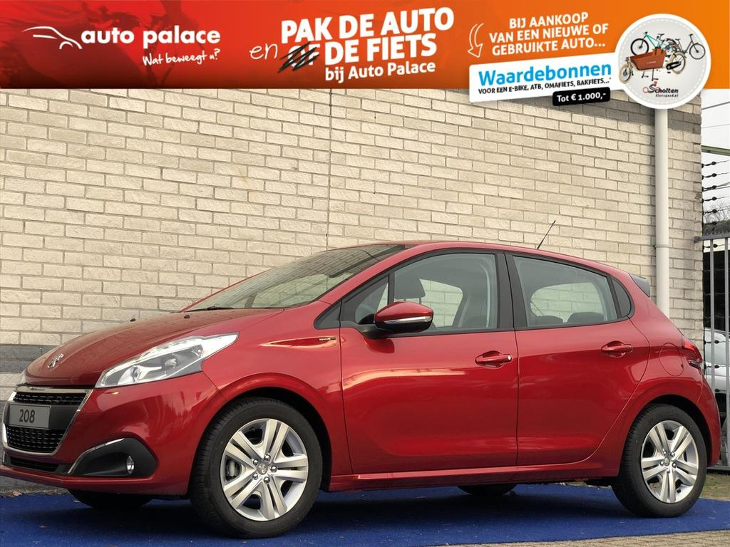 Peugeot 208 Signature 82pk airco sensoren achter navi
