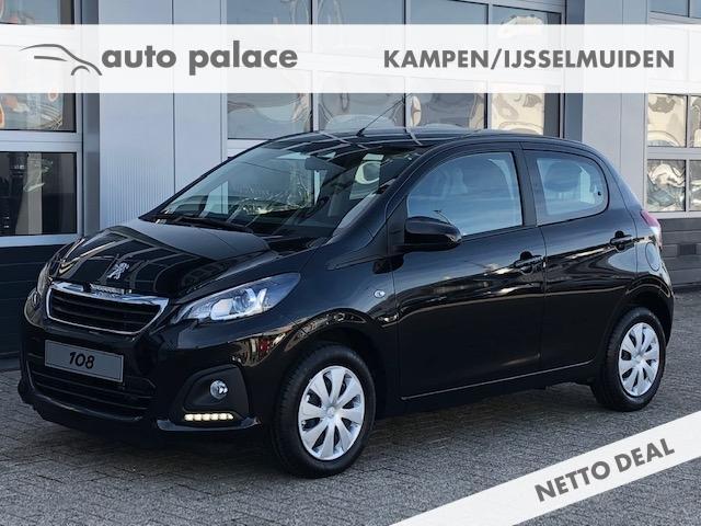 Peugeot 108 Active 72pk 5-deurs netto deal
