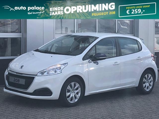 Peugeot 208 Like puretech 68pk private lease slechts € 261.-* per maand !