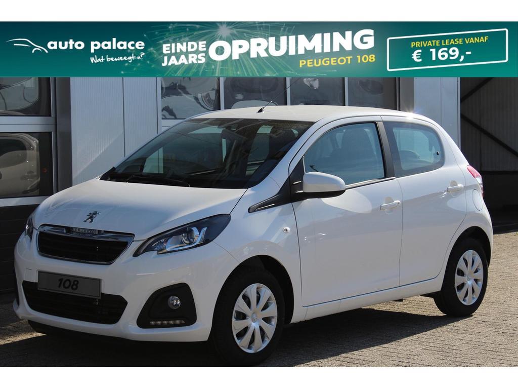 Peugeot 108 Active vti 72pk 5-deurs private lease slechts € 205.-* per maand