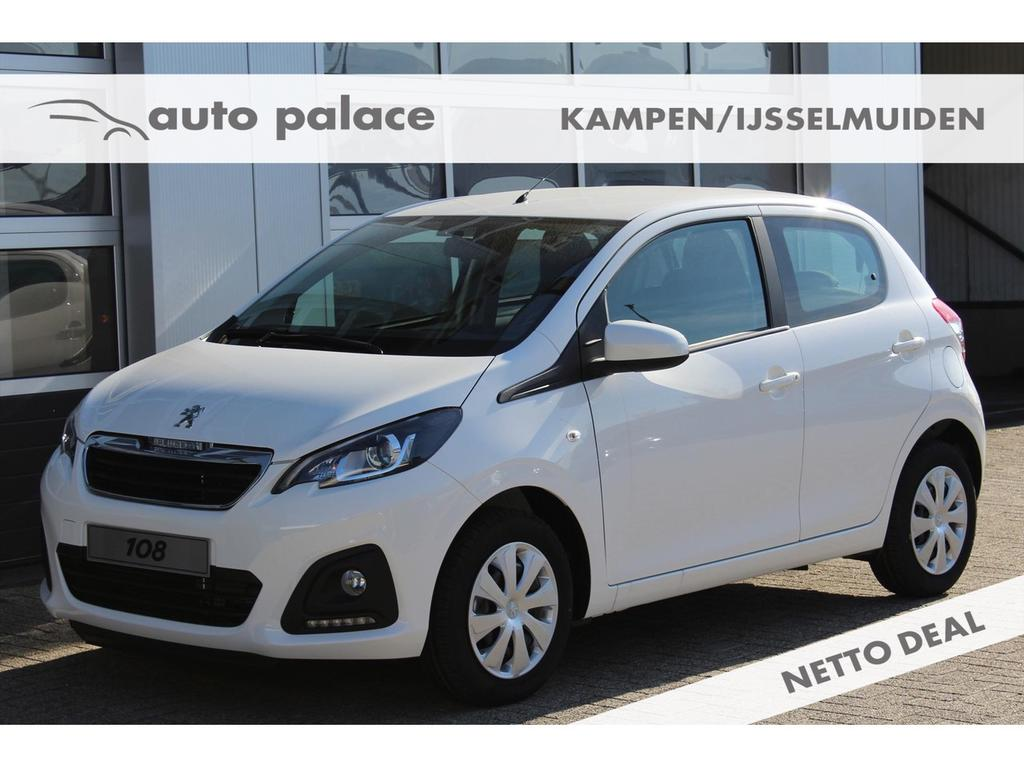 Peugeot 108 Active 1.0 e-vti 72pk 5-deurs netto deal