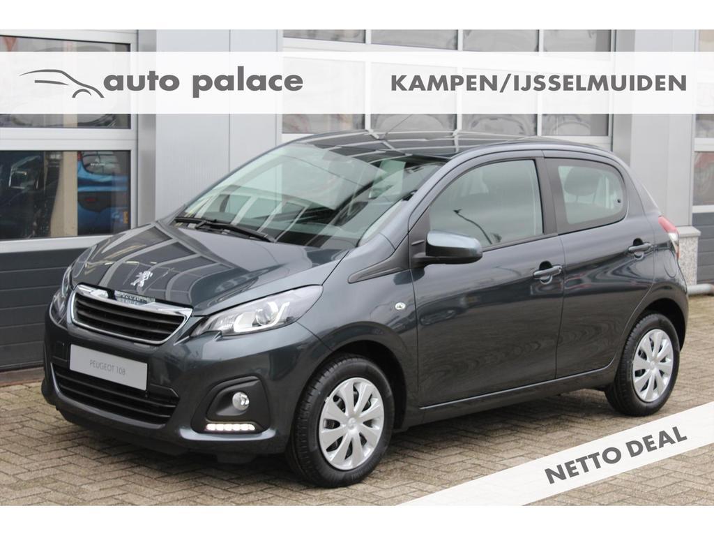 Peugeot 108 Active e-vti 72pk netto deal 5-deurs