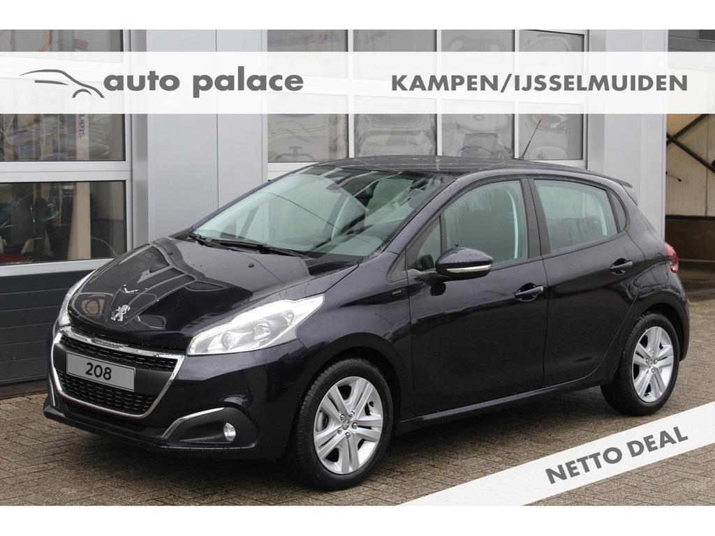 Peugeot 208 Signature 1.2 puretech 82pk netto deal