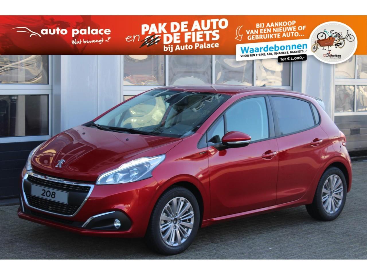 Peugeot 208 Signature 1.2 puretech 110pk netto deal
