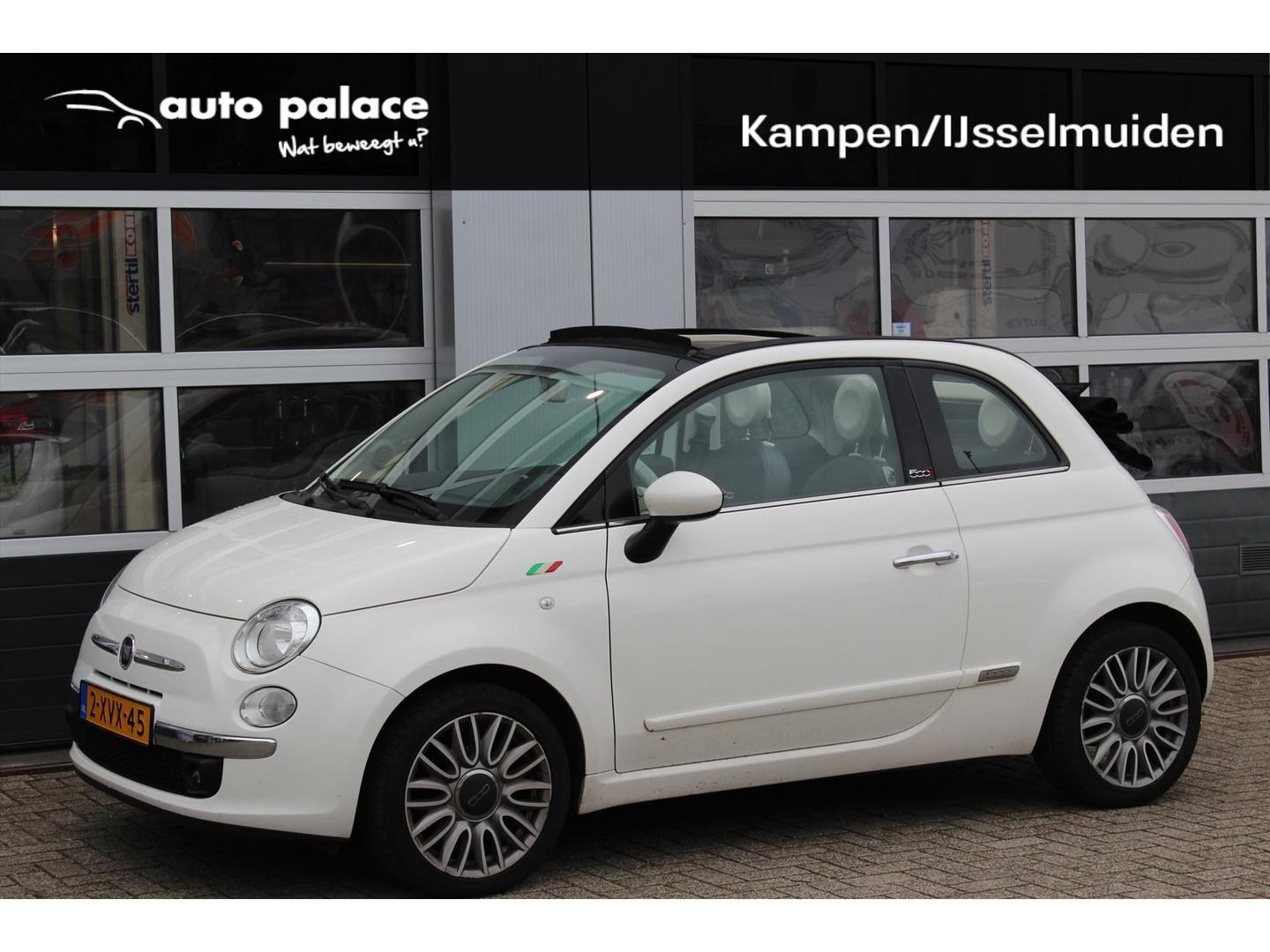Fiat 500c Twin air 80pk cabrio lounge