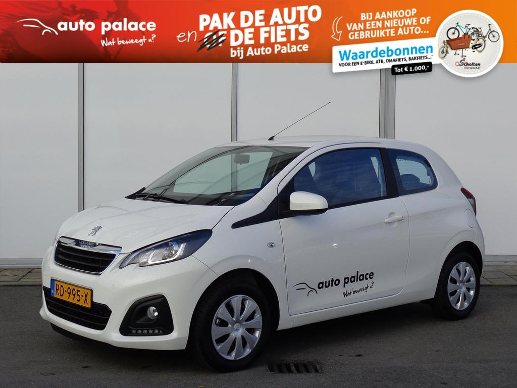 Peugeot 108 1.0 e-vti 68pk 3deurs active airco radio bluetooth