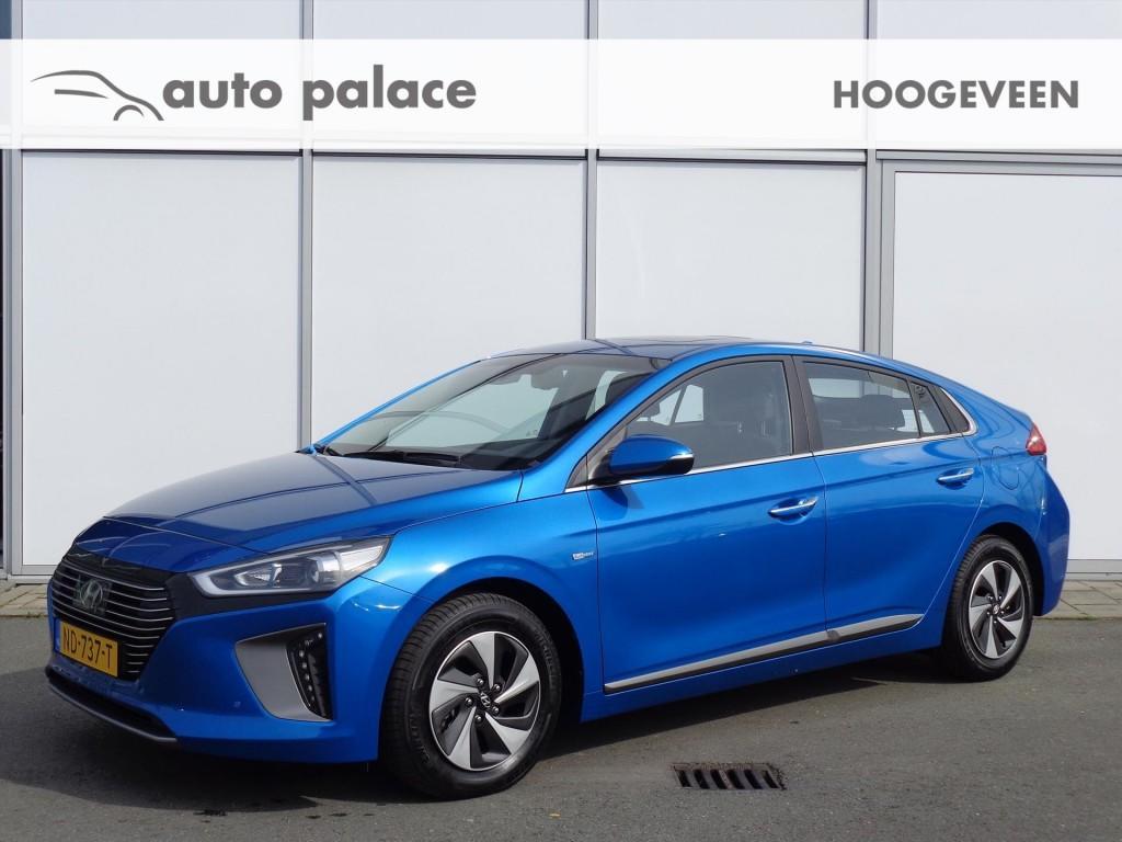 Hyundai Ioniq 1.6gdi hev (hybrid) premium leer schuifdak adaptieve cruise